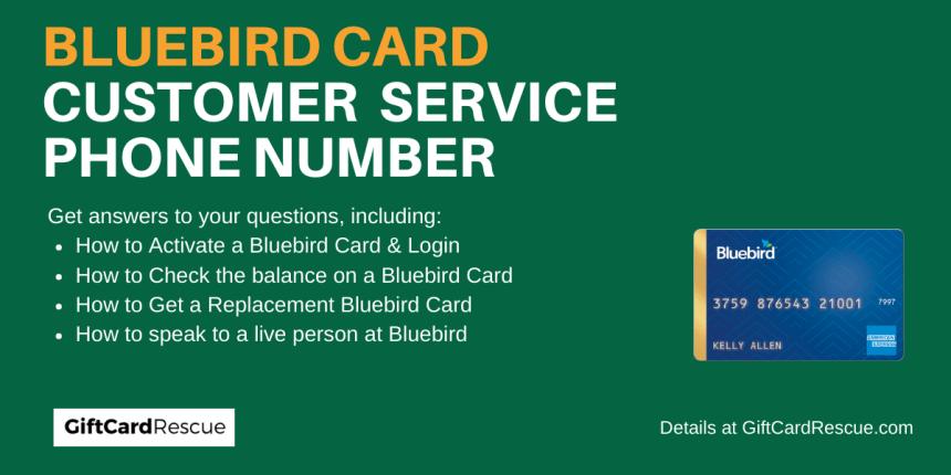 """""""Bluebird Card Customer Service"""""""