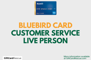 """""""How to speak to a live person at Bluebird Card"""""""