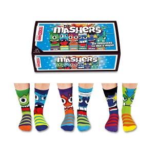 Set 6 sosete copii The Mashers