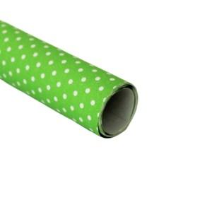 Hartie ambalat cadouri Graphic Verde deschis-Alb