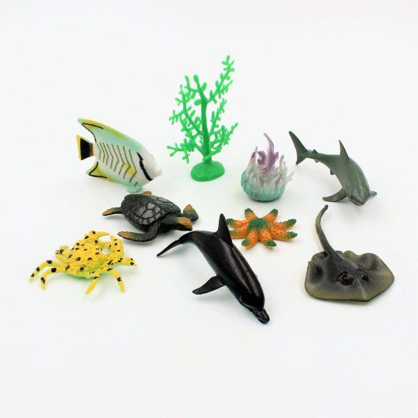 Set diverse figurine animale marine Ocean