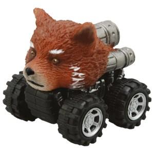 Mașinuță cu sistem friction red panda