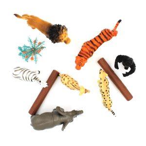 Set figurine jumbo 10 piese Safari