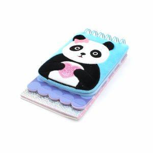 Carnetel 3D Panda multicolor 120 pagini