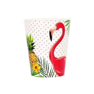 Set 8 pahare 260 ml Flamingo