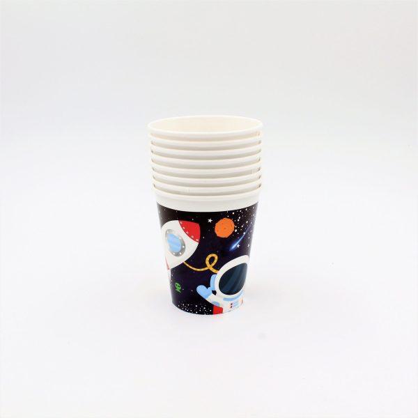 Set 8 pahare 260 ml Galaxy