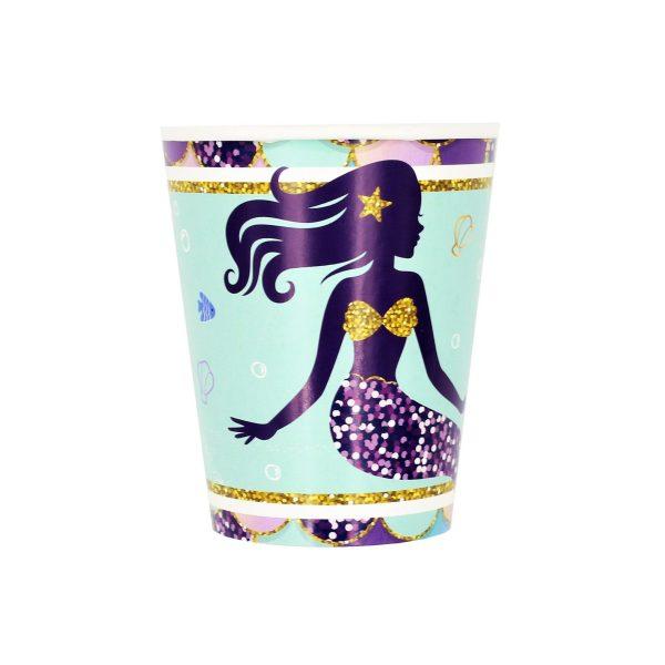 Set 8 pahare 260 ml Sirena
