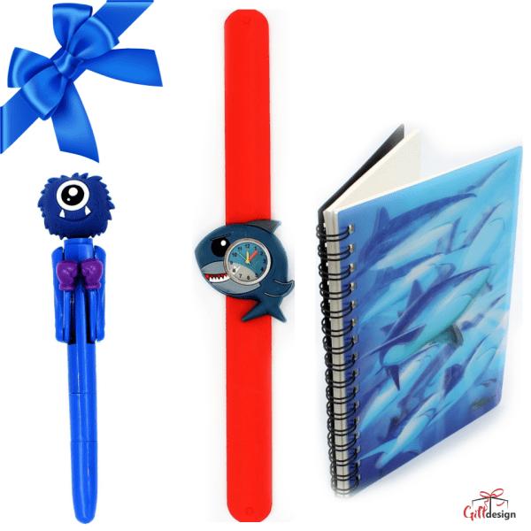 "Set promotional Gift Design baieti ""Shark"""