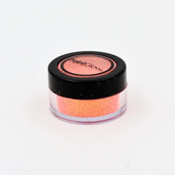 Glitter Peach Paradise PaintGlow UV Reactive