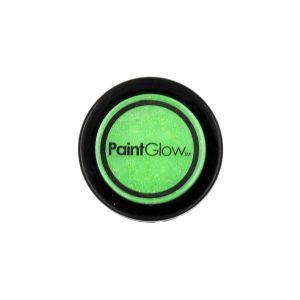 Glitter Mint Green PaintGlow UV Reactive