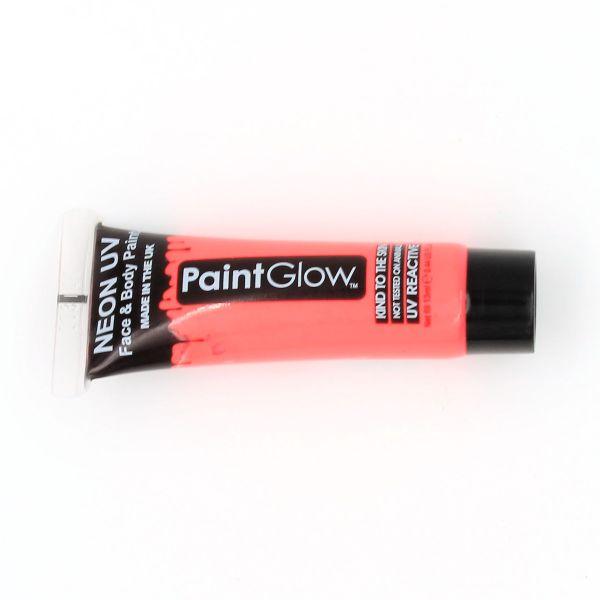 Vopsea față-corp 13ml Neon UV roșu