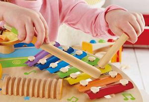 Best Toys and Gifts for 2 Year Old Girls with musical instruments
