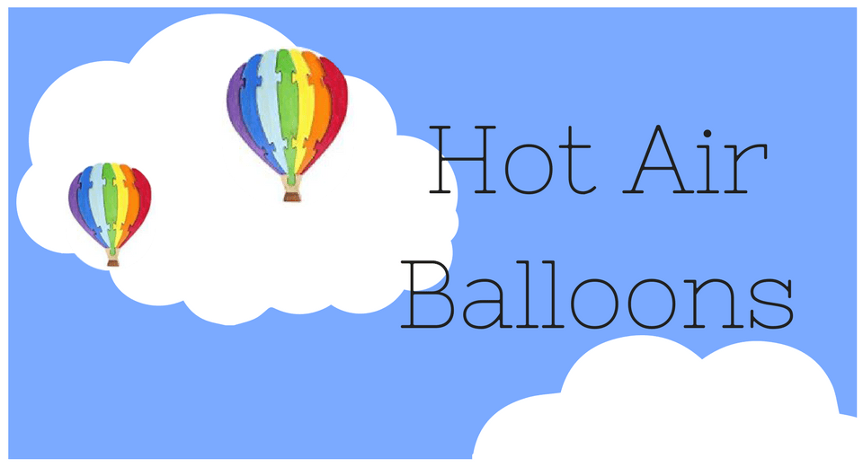 Incredibly Fun Gift Ideas for Those That Love Hot Air Balloons