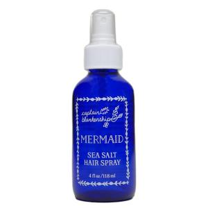 mermaid shimmer spray hair spray beach waves beach life vacation salty hair don't care gifts gifting ideas gifts for her women's gift guide