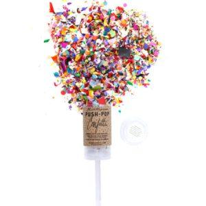 pop confetti sparkle sparkle decor decoration flower party decor decoration bachelorette party hooray party planning congratulations