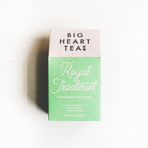 mint royal treatment big heart tea gift for tea lover