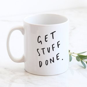 get stuff done gift gifting ideas coffee lover french roast dark roast espresso