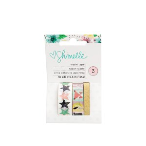 This gorgeous washi tape by Shimelle is the perfect way to stay organized in a stylish way. Great for separating sections in a journal, wrapping presents, decorating scrapbooks, or sticking reminders on your wall - this set is a lovely present for any one that loves some whimsy on their desk. Pairs great with a journal or stamps and is perfect for a coworker's birthday. washi tape bullet journal journaling stationary gifts for her gifts for him