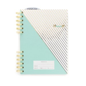 mint bullet journal perfect for gifting introverts, writers, organizers, teens