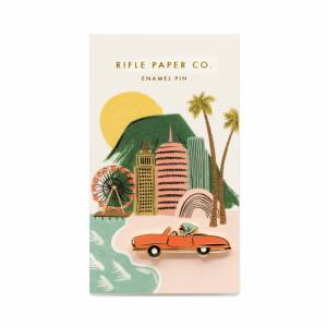 Your friend that radiates Old Hollywood Glamour doesn't even know how much she needs this beautiful glossy enamel pin in her life. Snag it for her birthday, or send it along just to say you miss her dearly. car enamel pins gifts for her gifting ideas Rifle Paper Co.
