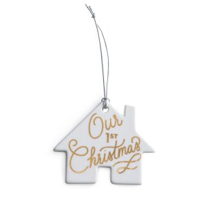 our first christmas ornament Christmas tree merry Christmas happy holidays christmas tree decoration decor new home first home homeowners newly weds