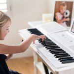 The ONE Smart Piano Keyboard with Lighted Keys, Electric Piano 61 keys, Home Digital Music Keyboard, Teaching Portable Keyboard Piano