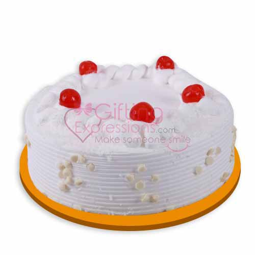 Send White Forest Cake From United King To Pakistan