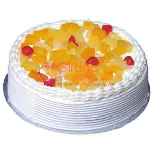 Send Mix Fruit Cocktail Cake From Serena Hotel To Pakistan
