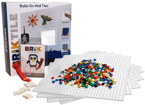 brik build on wall tiles