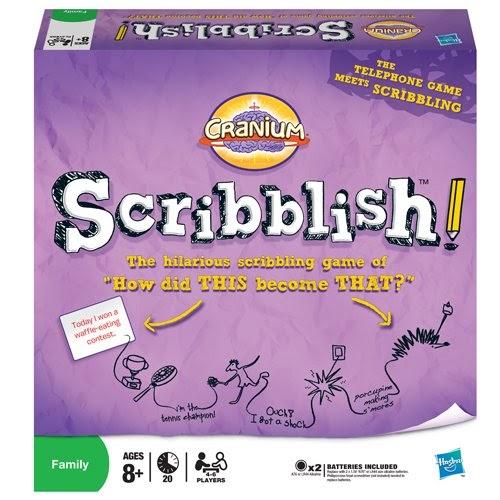 scribblish game board
