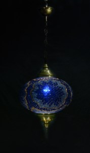 SINGLE CHAIN OVAL HANGING LAMP SIZE 6 (10)