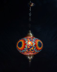 SINGLE CHAIN OVAL HANGING LAMP SIZE 6 (2)