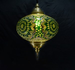 SINGLE CHAIN OVAL HANGING LAMP SIZE 6 (7)