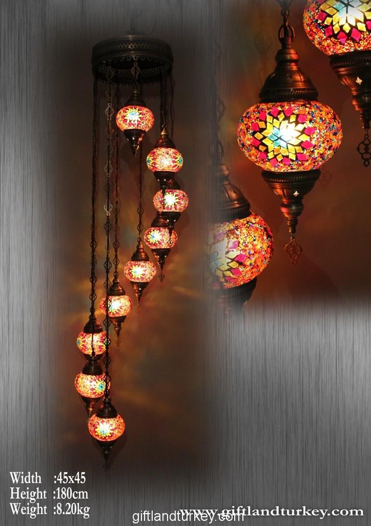 All Glass Turkish Light