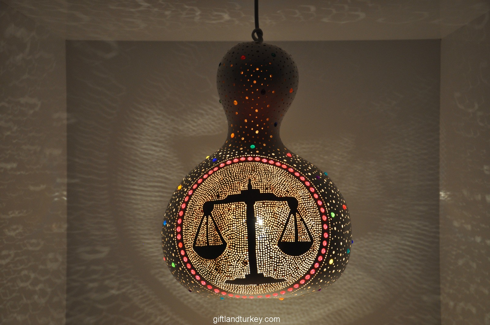 Handmade Horoscope Lamp