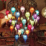 Made Home Decorating Ideas with Mosaic Lamp