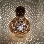 Multi holes moroccan lamp