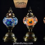 Table Mosaic Lamp Size 1