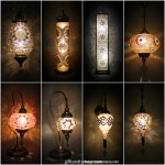 Wholesale Moroccan and mosaic lamp types