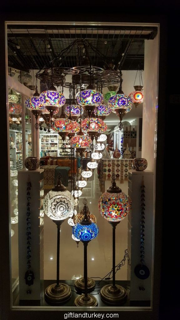 Mosaic Turkish Lamps