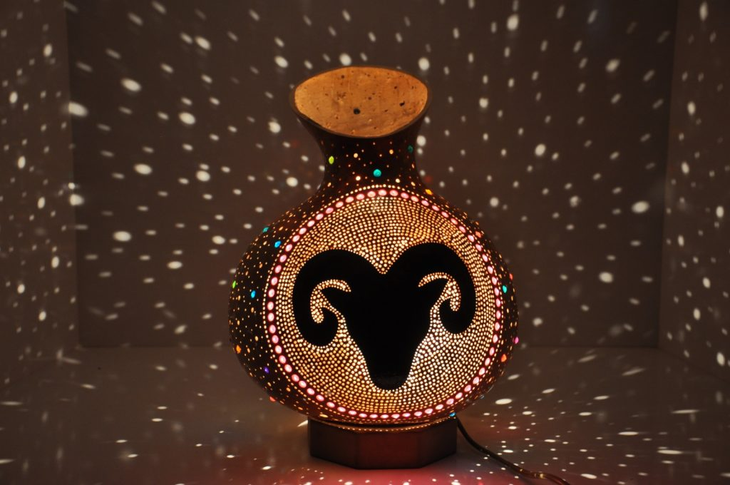 ARIES MOSAIC LAMP