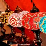 Mosaic Desk Table Marrakech Handmade Turkish Mosaic Moroccan Glass Table Lamp Moroccan Lantern with Bronze Base
