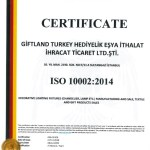MY ISO 10002 CERTIFICATE