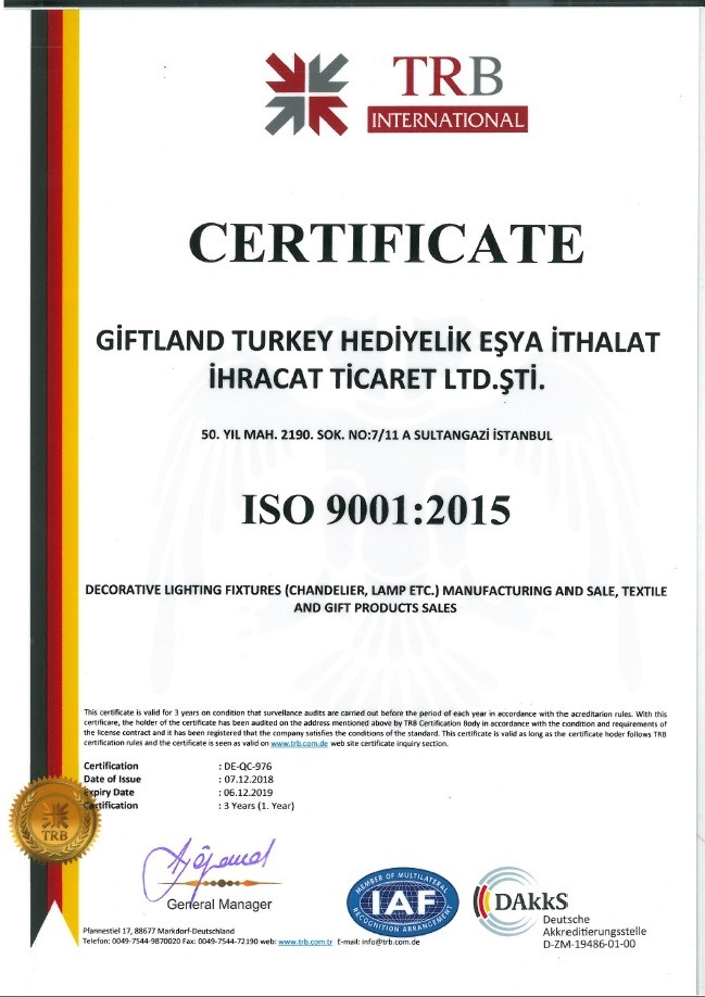 MY ISO 9001 CERTIFICATE