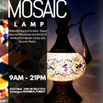 Mosaic lamp pitcher