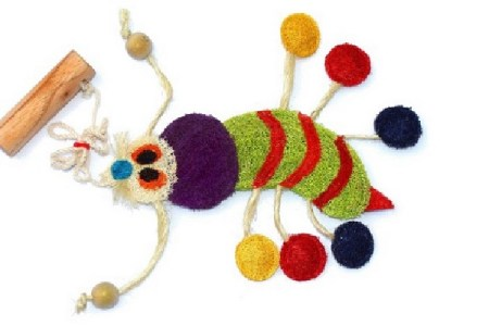 Natural Fiber and Organic Cat Toys