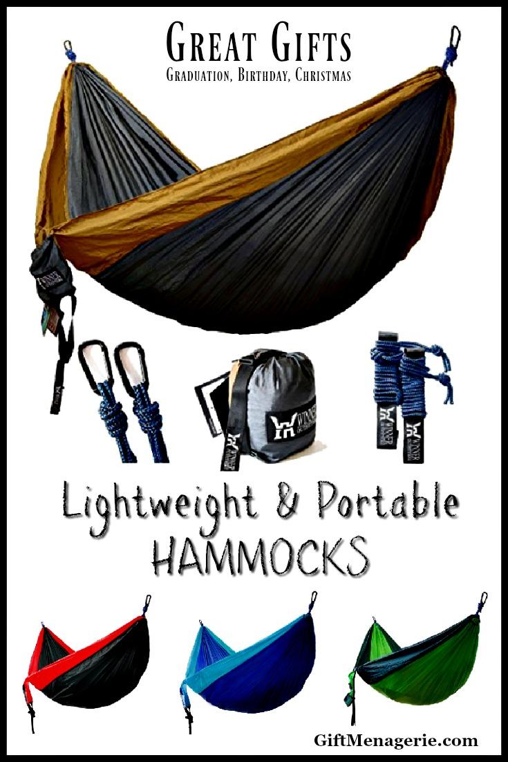 Lightweight, Portable Hammocks for 2