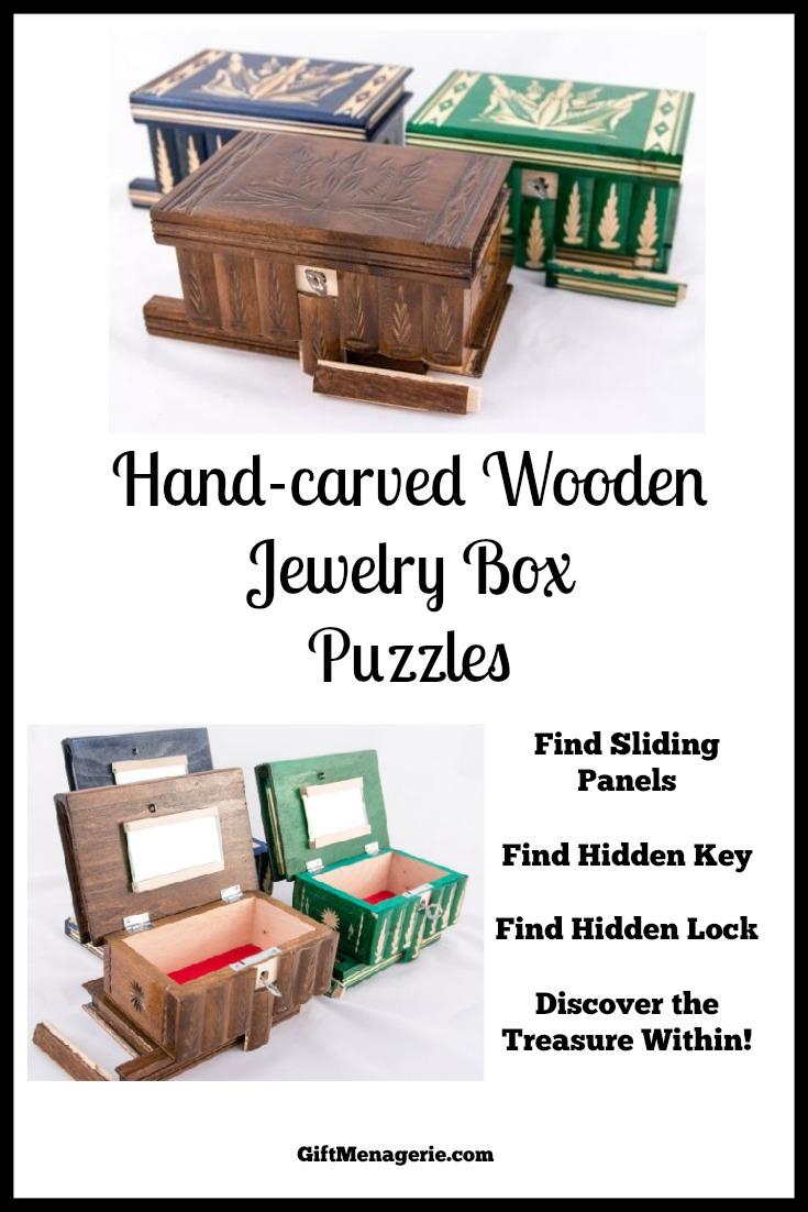 Puzzle Jewelry Box