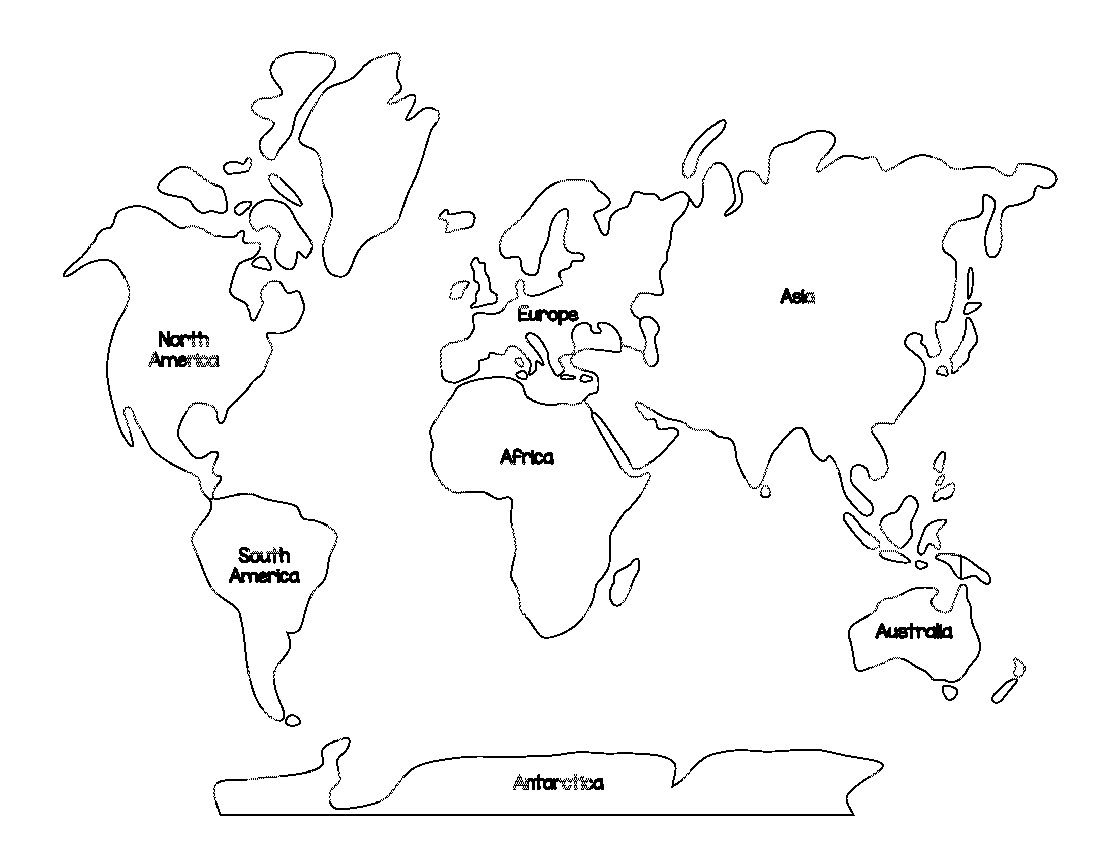 Montessori Geography World Map And Continents