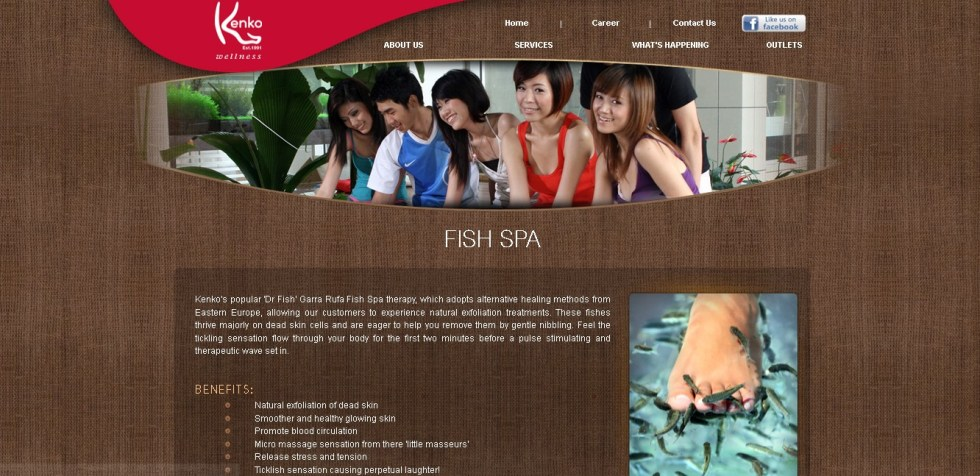 FREE 30mins Fish Spa at Kenko Wellness With NTUC Card
